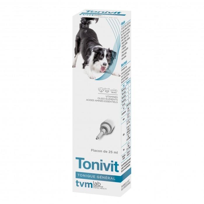 Friandise & complément - Tonivit cure de vitamines pour chiens