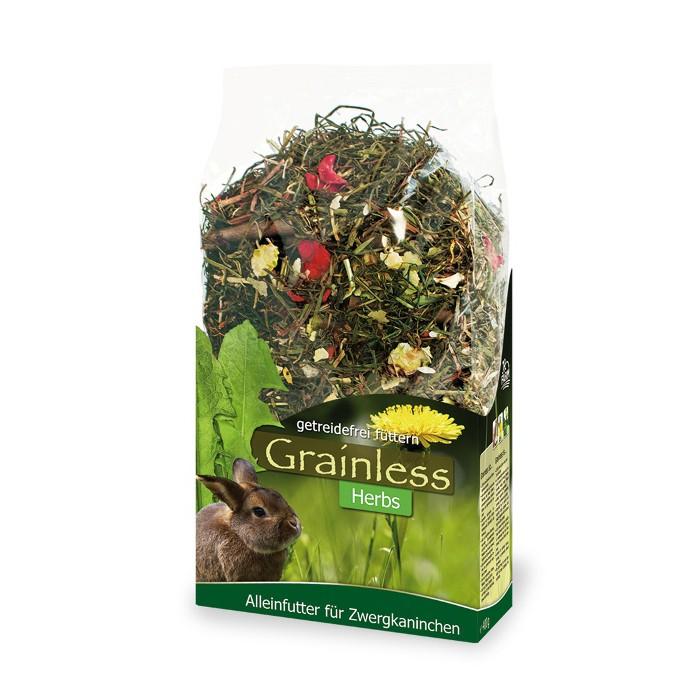 Friandise et complément  - Grainless Herbs Lapin nain pour rongeurs