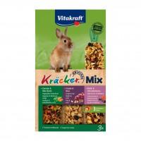 Friandise et complément  - Kräcker Trio-Mix lapins nains