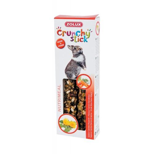 Friandise et complément  - Crunchy stick pour lapin pour rongeurs