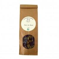 Friandise pour chinchilla - Fleurs de mauve bio Chinchilla du terroin