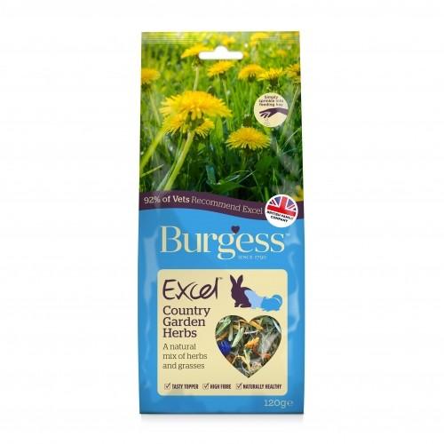 Bien-être au naturel - Excel Snacks Mélange d'herbes Country Garden pour rongeurs