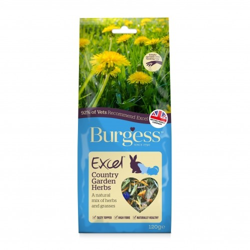 Friandise et complément  - Excel Snacks Mélange d'herbes Country Garden pour rongeurs