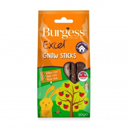 Friandise et complément  - Excel Snacks Bâtonnets à ronger pour rongeurs