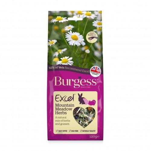 Bien-être au naturel - Excel Snacks Mélange d'herbes Mountain Meadow  pour rongeurs