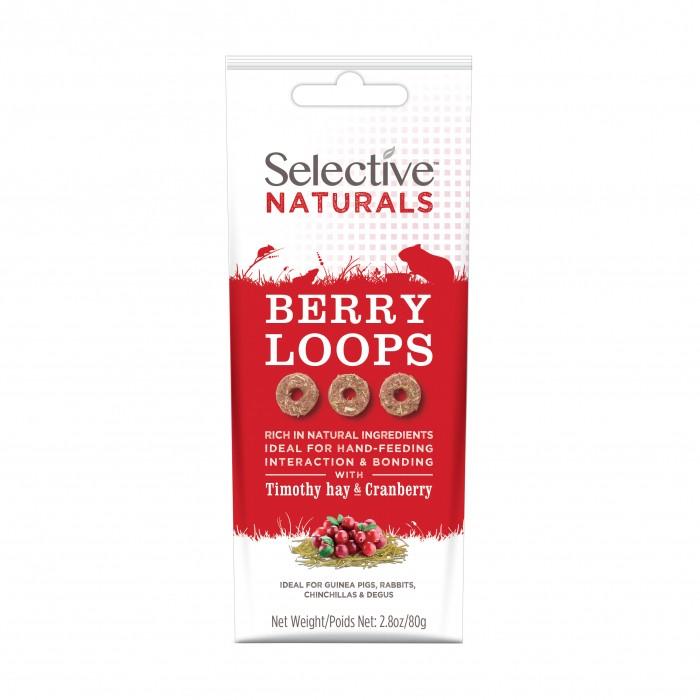 Friandise et complément  - Berry Loops Selective Naturals pour rongeurs