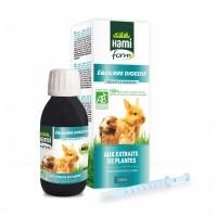 Complément alimentaire pour lapin et rongeur - Complexe Equilibre digestif BIO Hamiform