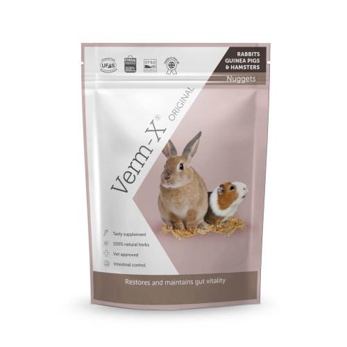 Friandise et complément  - Verm-X Lapin et rongeurs - Granules Hygiène intestinale pour rongeurs