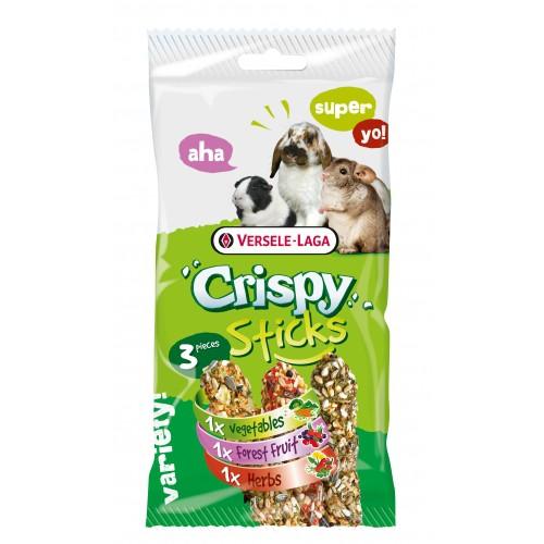 Friandise et complément  - Crispy Sticks Rongeurs Herbivores pour rongeurs