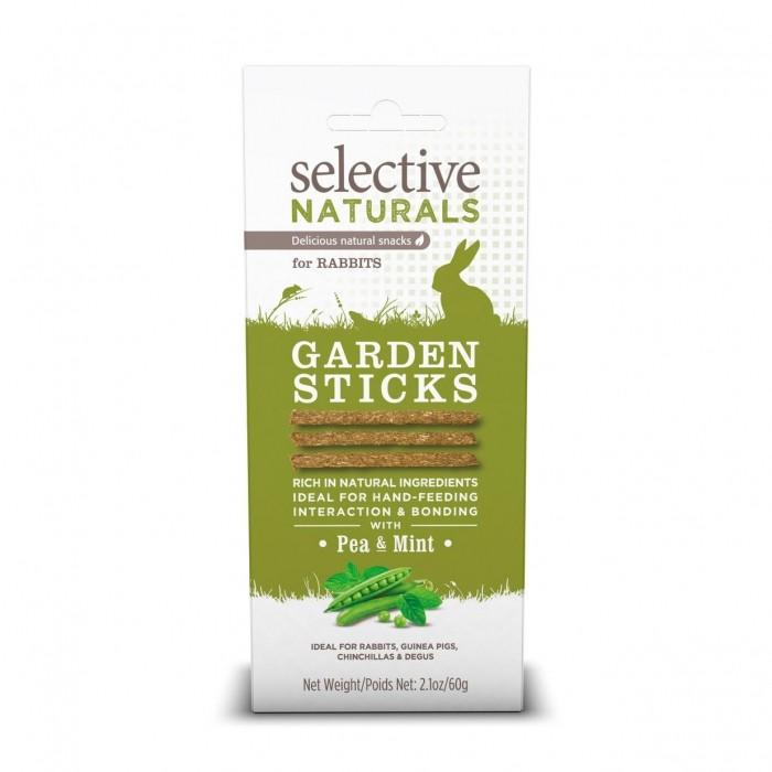 Friandise et complément  - Garden Sticks Selective Naturals pour rongeurs