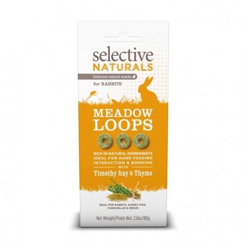 Friandise et complément  - Meadow Loops Selective Naturals pour rongeurs