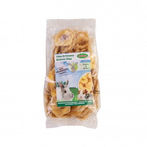 Friandise et complément  - Chips de bananes pour rongeurs