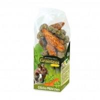 Friandise pour rongeur - Carottes Porte-Bonheur JR Farm