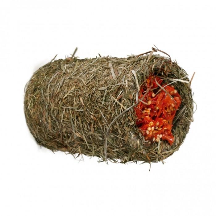 Friandise et complément  - Tunnel de foin gourmand pour rongeurs