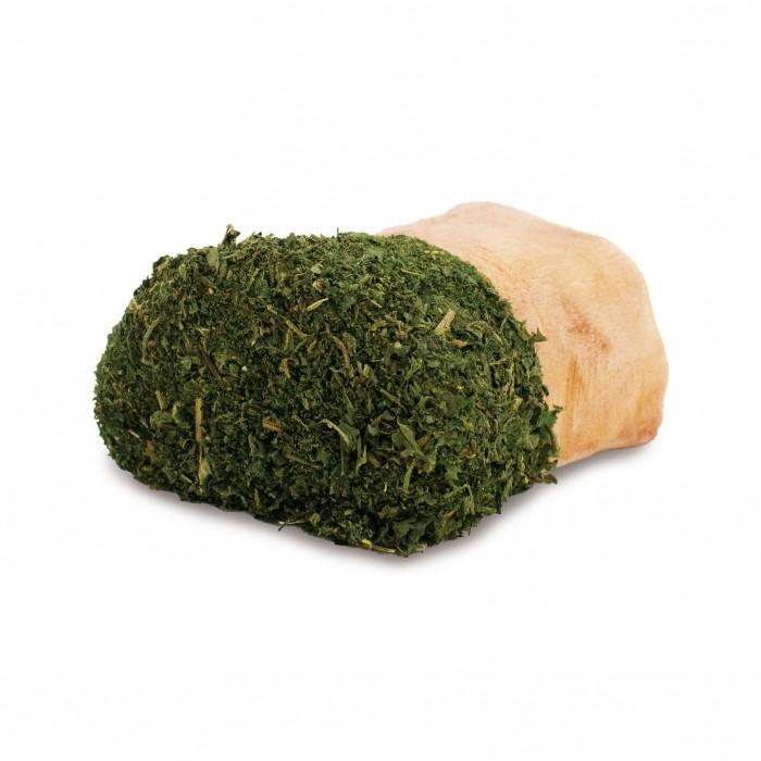 Racine avec herbes