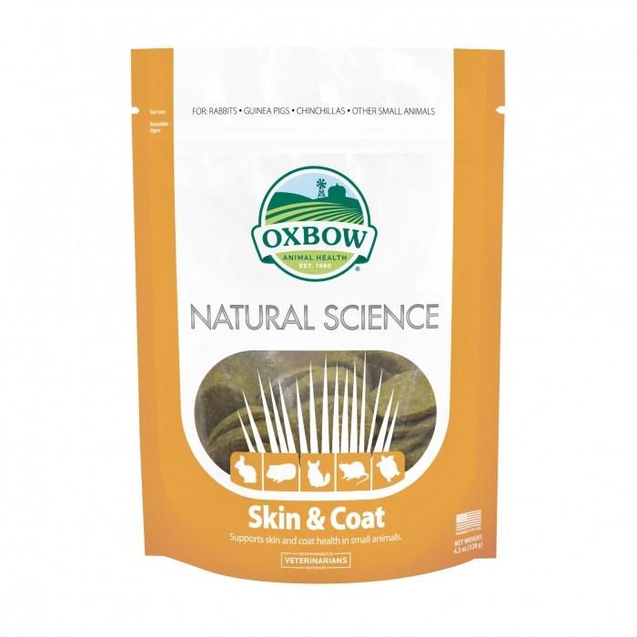 Friandise et complément  - Natural Science - Skin & Coat pour rongeurs