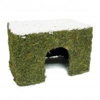 Friandise et cabane pour rongeur - Naturals Hay Cottage Medium Rosewood