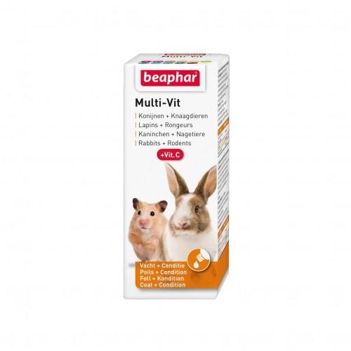 Friandise et complément  - MULTI-VIT, vitamines pour rongeurs et lapins pour rongeurs