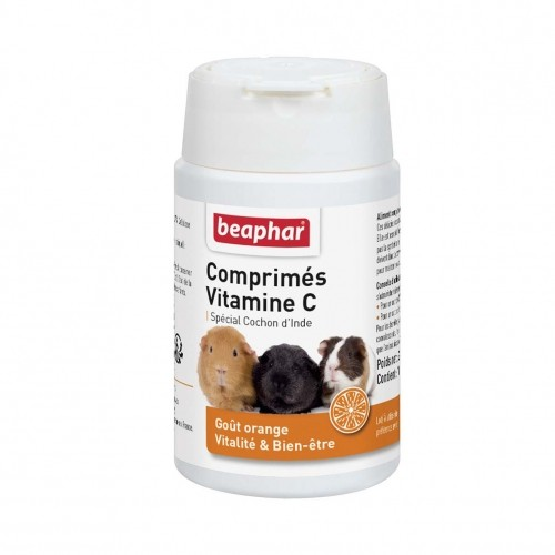 Friandise et complément  - Comprimés de vitamine C pour cochon d'inde pour rongeurs