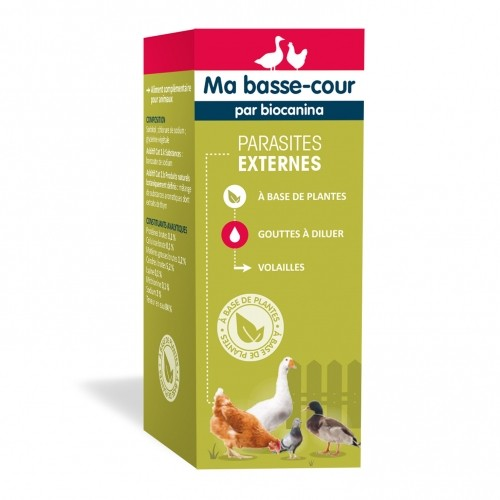 Antiparasitaire pour poule - Complément Parasites Externes pour poules
