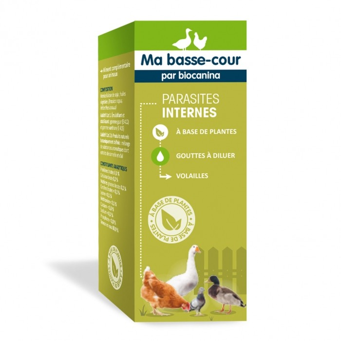 Antiparasitaire pour poule - Complément Parasites Internes pour poules