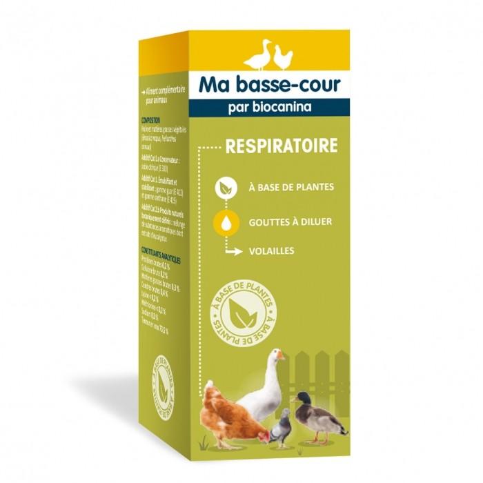 Friandise et complément poule - Complément Respiratoire pour poules