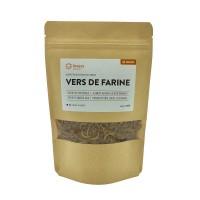 Complément pour poule, poussin, hamster et furet - Vers de farine déshydratés INVERS
