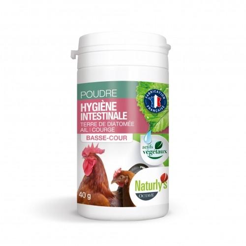 Friandise et complément poule - Hygiène Intestinale Basse-cour pour poules