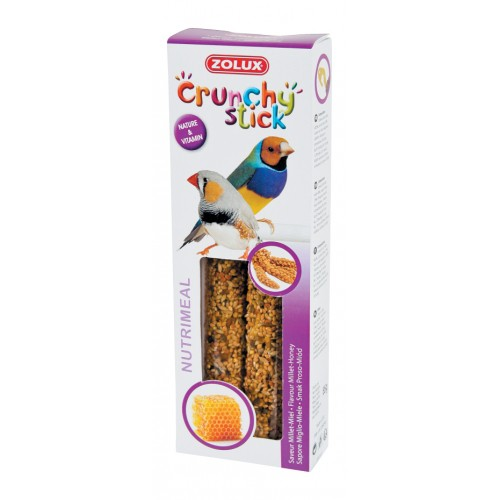 Friandise pour oiseau - Crunchy stick pour oiseau exotique pour oiseaux