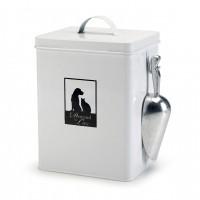 Gamelle, distributeur & fontaine - Boîte à croquette en métal