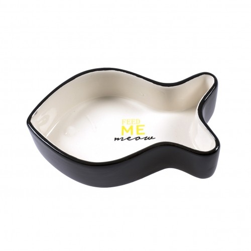 Gamelle, distributeur & fontaine - Gamelle Poisson Feed Me Meow pour chats