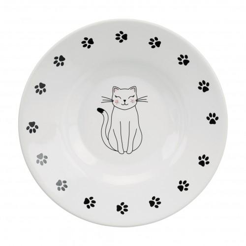 Gamelle, distributeur & fontaine - Assiette Catty pour chats