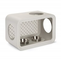 Gamelle, distributeur & fontaine - Cat Cube Dinner