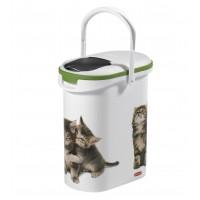 Conteneur à croquettes pour chat - Petit conteneur à croquettes Catlife Curver