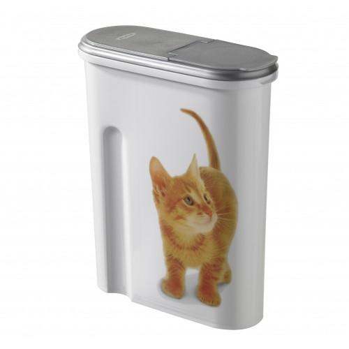 Gamelle, distributeur & fontaine - Boîte à croquettes Petlife 1.5kg pour chats