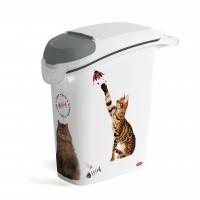 Conteneur à croquettes pour chat - Conteneur à croquettes Love Cats avec bec verseur Curver