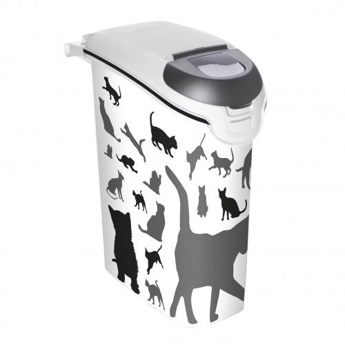 Gamelle, distributeur & fontaine - Boîtes à croquettes Cat Silhouette pour chats