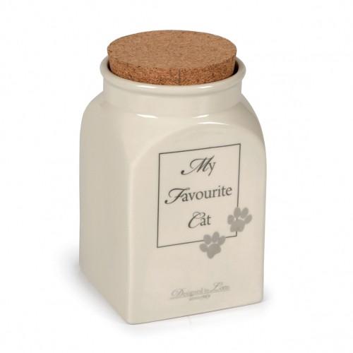 Gamelle, distributeur & fontaine - Pot céramique My Favourite Cat pour chats