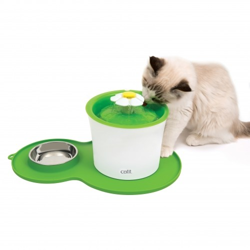 Gamelle, distributeur & fontaine - Set de table Peanut pour chats