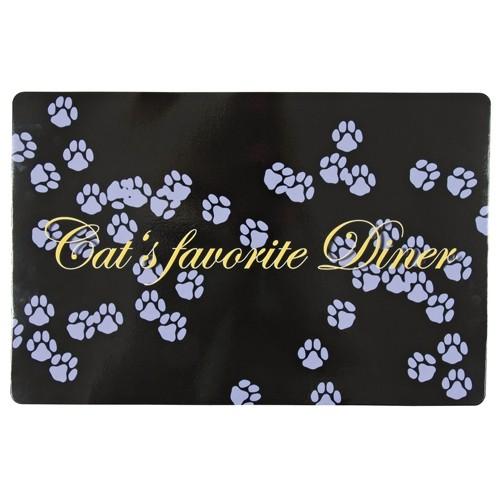 Gamelle, distributeur & fontaine - Set de table Cat's Favorite Diner pour chats