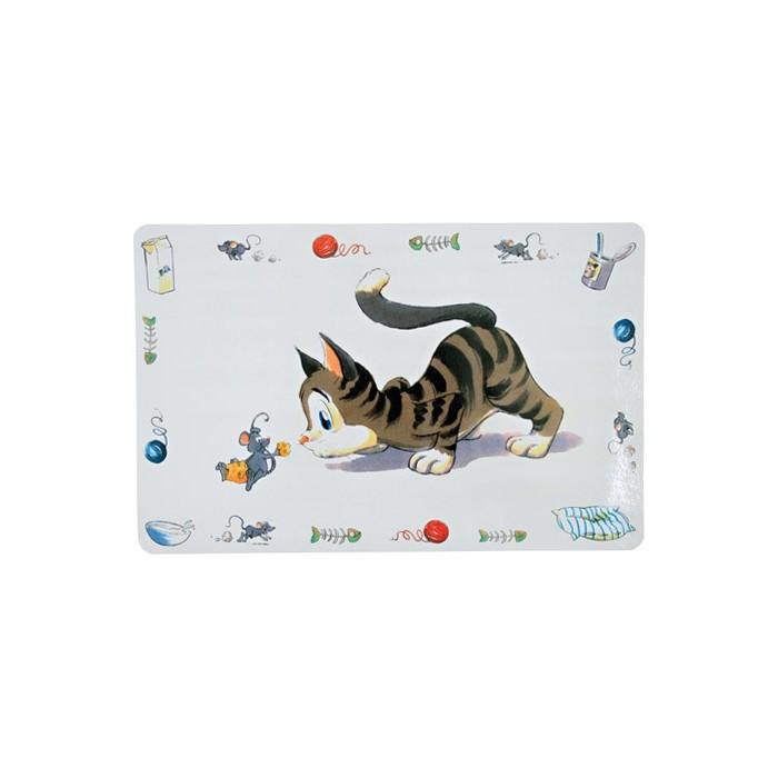 Gamelle, distributeur & fontaine - Set de table Tendresse pour chats