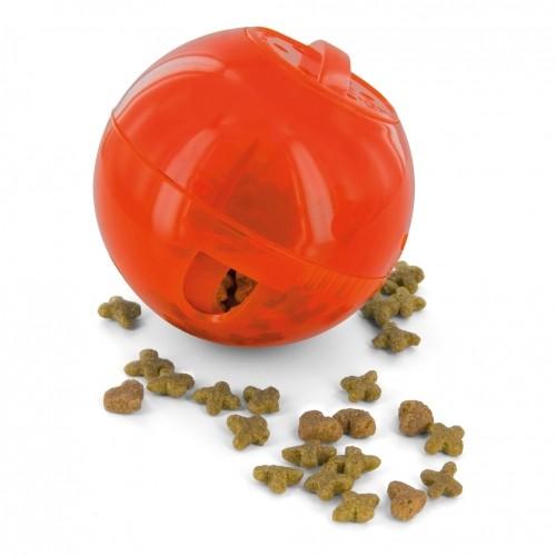 Gamelle, distributeur & fontaine - Balle distributrice de nourriture SlimCat Petsafe pour chats