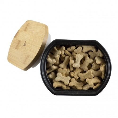 Gamelle et distributeur - Boite à biscuits pour chiens