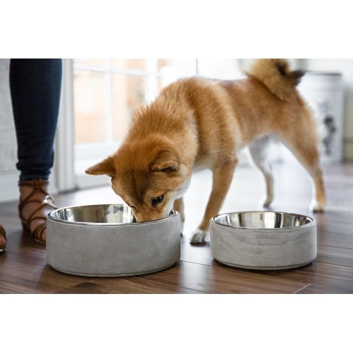 Gamelle et distributeur - Gamelle Concrete pour chiens