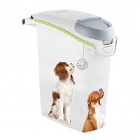 Accessoire repas pour chien - Boîtes à croquettes avec bec verseur Curver