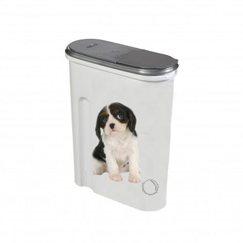 Gamelle et distributeur - Mini boîte à croquettes Petlife pour chiens