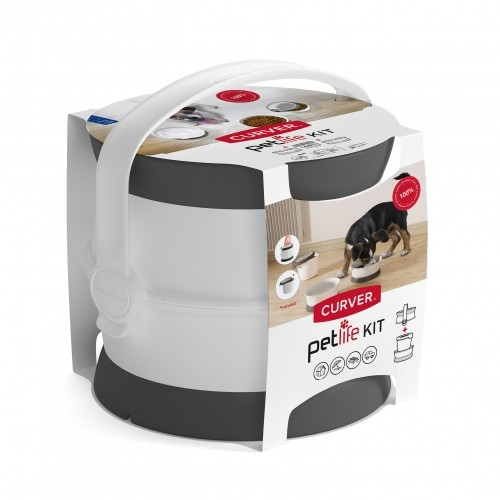 Gamelle, distributeur & fontaine - Kit Nomade pour chats