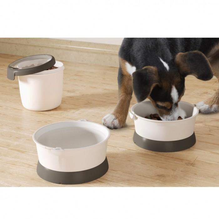 Gamelle et distributeur - Kit Nomade pour chiens