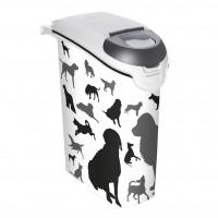 Boîte de stockage pour aliments - Boîtes à croquettes Dog Silhouette Curver