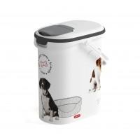 Conteneur à croquettes pour chien - Conteneur à croquettes Love Dogs avec anse  Curver